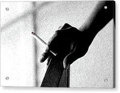Smoke Acrylic Print by Dax Ian