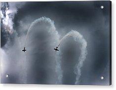 Smoke Signals Acrylic Print by Betsy Knapp