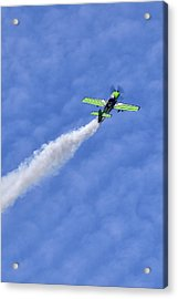 Smoke Trail Acrylic Print by Sara Hudock