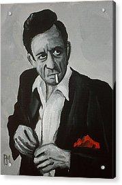 Smokin Johnny Acrylic Print by Pete Maier