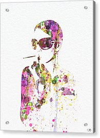 Smoking In The Sun Acrylic Print