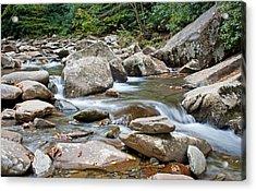 Smoky Mountain Streams Acrylic Print