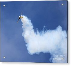 Acrylic Print featuring the photograph Smoky Trail by Alex Esguerra