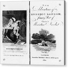 Smollett: Roderick Random Acrylic Print by Granger