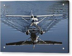 Smoooth Landing Acrylic Print by David Kehrli