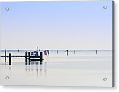 Smooth As Glass Acrylic Print by Bill Cannon