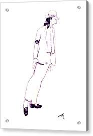 Smooth Criminal Acrylic Print by Lee McCormick