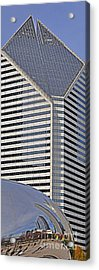 Smurfit And The Bean Acrylic Print by Mary Machare
