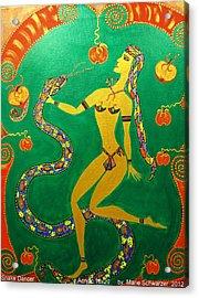 Snake  Dancer Acrylic Print