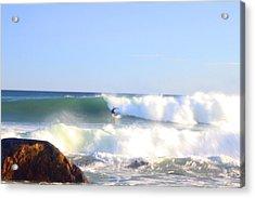 Snake Hole Surfer Acrylic Print