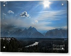 Acrylic Print featuring the photograph Snake River Overlook by Clare VanderVeen