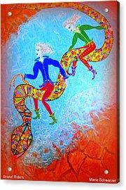 Snake's Riders Acrylic Print