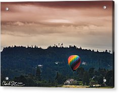 Snohomish Baloon Ride Acrylic Print by Charlie Duncan