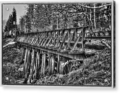 Snoqualmie Trestle Acrylic Print by Scott Massey