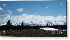 Snow Caps  Acrylic Print by The Kepharts