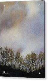 Snow Coming Acrylic Print