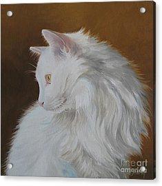 Snowball Acrylic Print