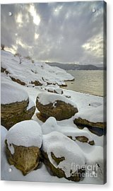 Snowcapped Acrylic Print by Idaho Scenic Images Linda Lantzy