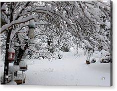 Snowscape Four Acrylic Print