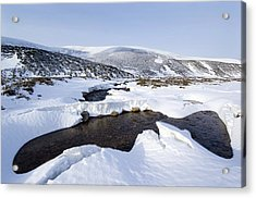 Snowy Landscape, Scotland Acrylic Print by Duncan Shaw