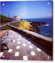 São Jorge Island, Azores, Portugal Acrylic Print