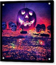 So Ready For Halloween ! Acrylic Print