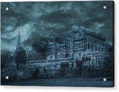 Sobrellano Palace Acrylic Print by Angel Jesus De la Fuente