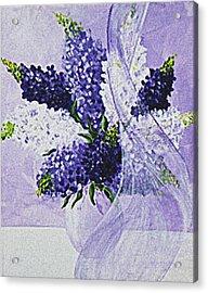 Soft Breeze Acrylic Print by Kume Bryant