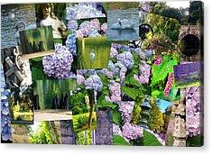 Soft Lavender Acrylic Print by Sherry  Kepp