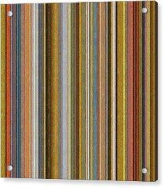 Soft Stripes Ll Acrylic Print by Michelle Calkins