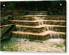 Soft Waterfall Acrylic Print