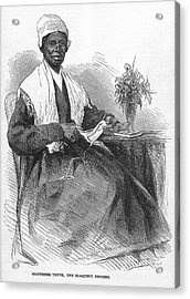 Sojourner Truth (d.1883) Acrylic Print by Granger