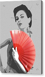 Sola Acrylic Print by Naxart Studio