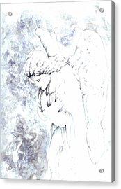 Solace Angel Acrylic Print by Lisa Buchanan