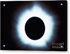 Solar Eclipse Acrylic Print by Stocktrek Images