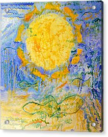 Solar Fish Acrylic Print