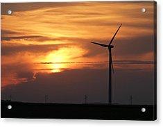 Solar Sunset Acrylic Print