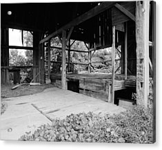 Sold The Siding To A Pizza Place Acrylic Print by Jan W Faul