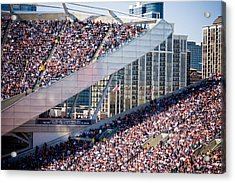 Soldier Field Crowd Acrylic Print