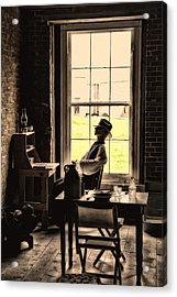 Soldier Of Old Times Acrylic Print by Karol Livote