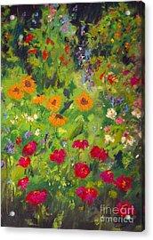 Solebury Garden Acrylic Print