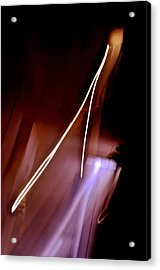 Solitary Thrust Acrylic Print by Henry Rowland