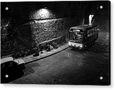 Acrylic Print featuring the photograph Solitary Wait by Lynn Palmer