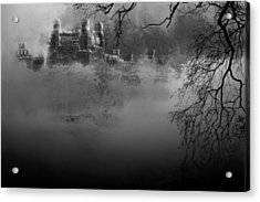 Solitude In Central Park Acrylic Print by Jeff Burgess