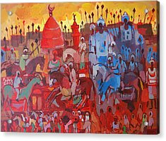 Some Of The History1 Acrylic Print by Mohamed Fadul