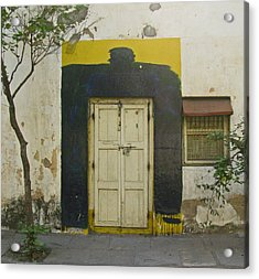 Acrylic Print featuring the photograph Somebody's Door by David Pantuso