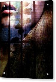 Someone Behind Acrylic Print by Claudia Boeckelmann