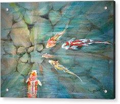 Something Fishy Acrylic Print by Mohamed Hirji