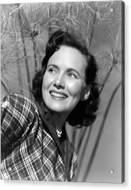Something To Live For, Teresa Wright Acrylic Print by Everett