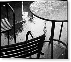 Sometimes It Rains Acrylic Print by Anne McDonald